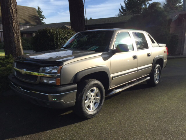 2003 chevrolet avalanche 1500 4dr 4wd crew cab sb in shoreline wa seattle motorsports. Black Bedroom Furniture Sets. Home Design Ideas