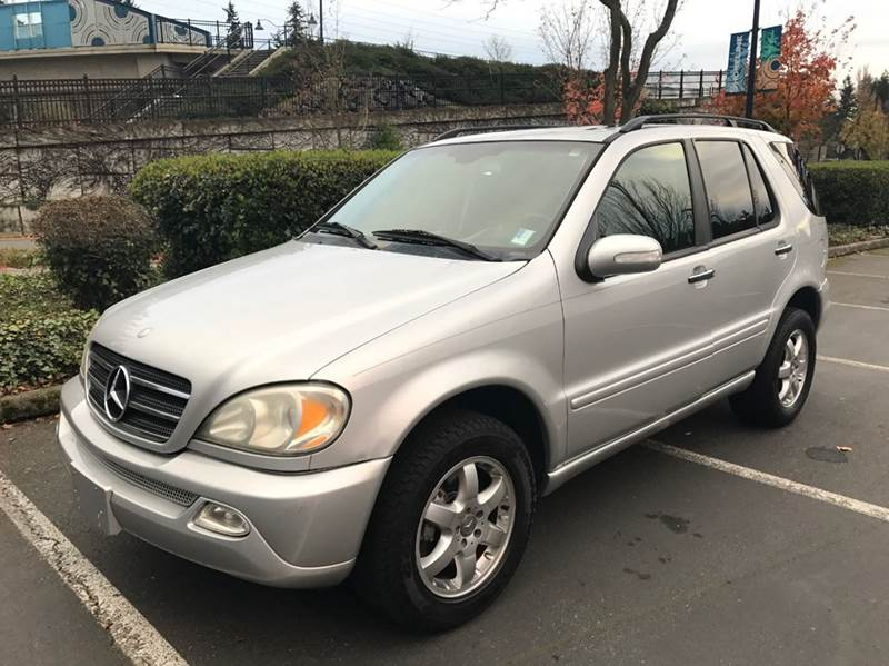 2004 mercedes benz m class ml500 awd 4matic 4dr suv in for 2004 mercedes benz ml350 4matic