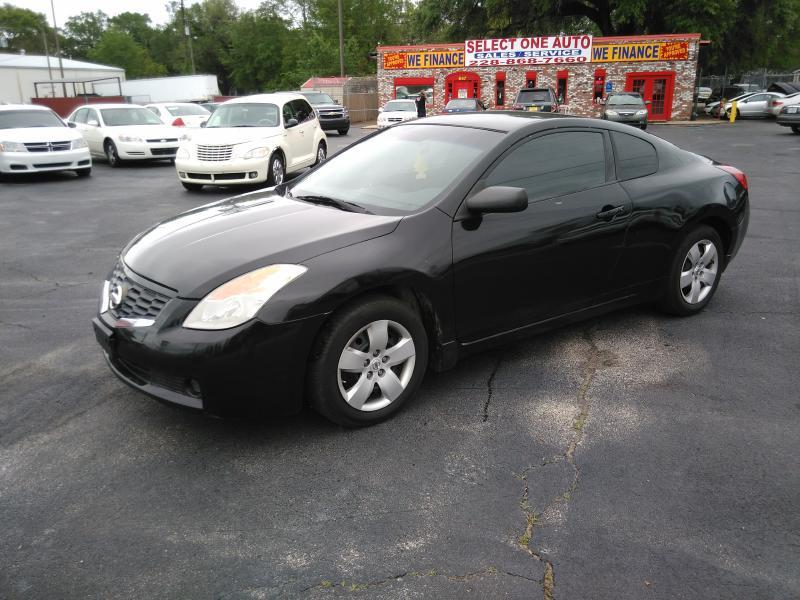 2008 nissan altima 2 5s in gulfport ms select one auto sales. Black Bedroom Furniture Sets. Home Design Ideas