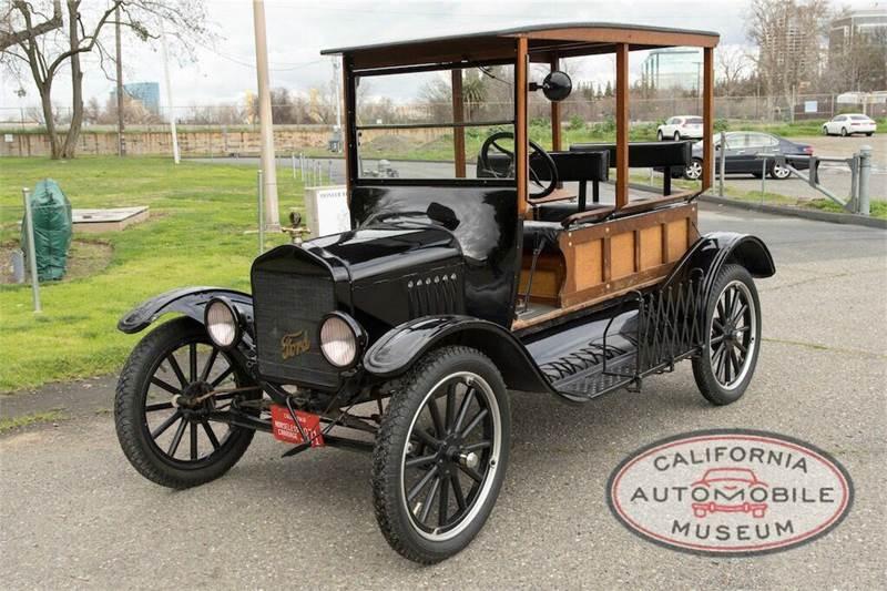 1921 ford model t depot hack in sacramento ca california automobile museum. Black Bedroom Furniture Sets. Home Design Ideas