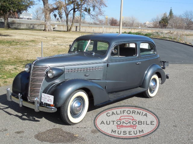 1938 Chevrolet Master Two Door Sedan