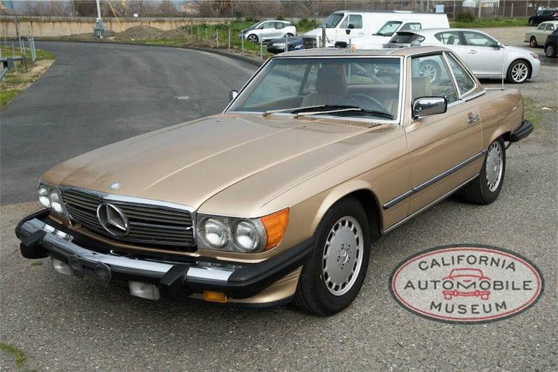 1988 mercedes benz 560 class 560 sl 2dr convertible in for Mercedes benz sacramento