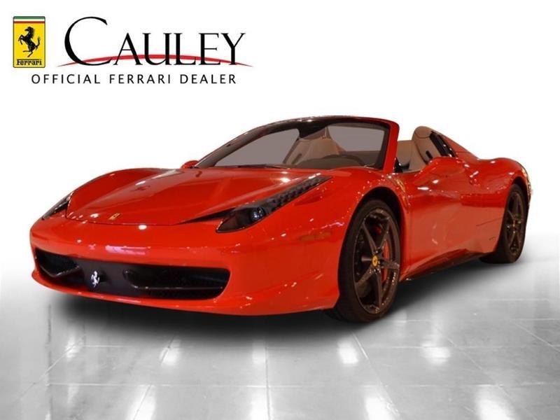 2013 Ferrari 458 Spider 2dr Convertible In West Bloomfield Mi