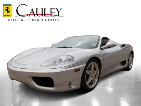2002 Ferrari 360 Spider for sale in West Bloomfield, MI