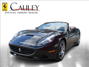 2012 Ferrari California for sale in West Bloomfield, MI