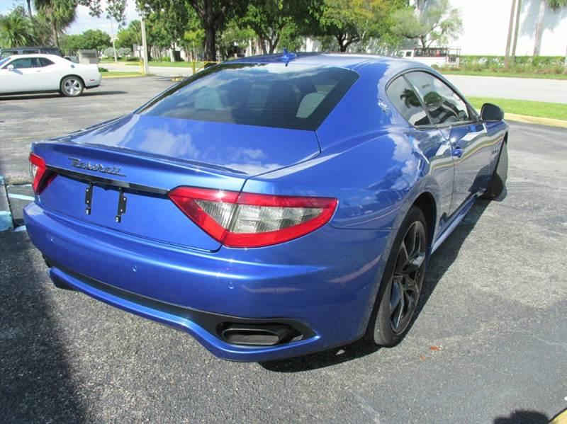 2013 Maserati GranTurismo Sport 2dr Coupe - Doral FL