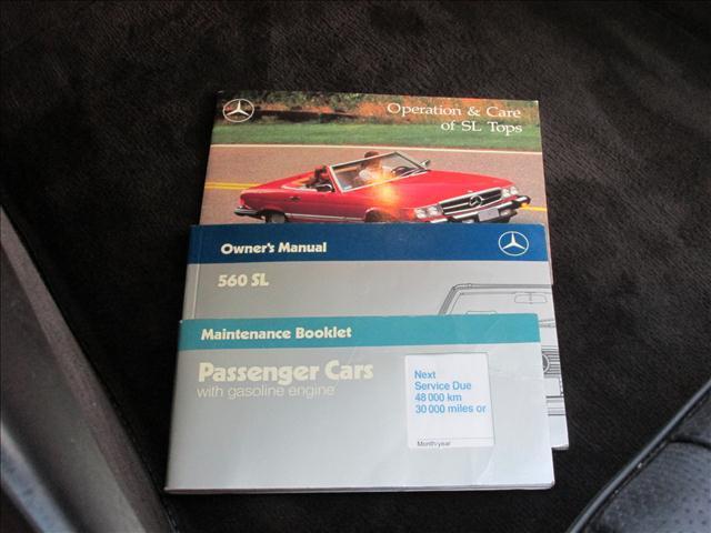 1989 Mercedes-Benz SL-Class 560SL - Doral FL