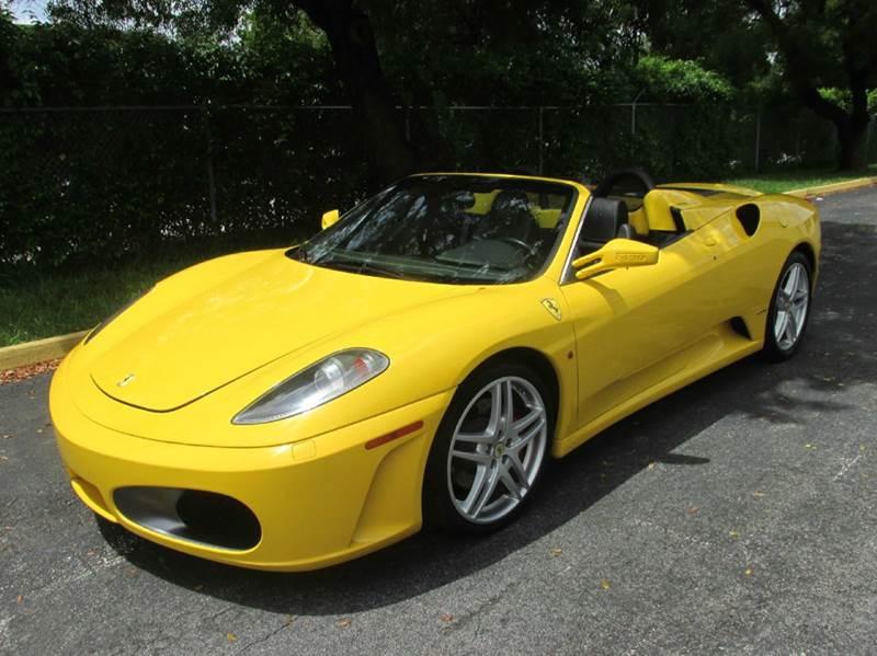 2007 Ferrari F430 F1 Spider 2dr Convertible - Doral FL