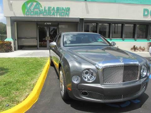 2016 Bentley Mulsanne for sale in Doral, FL