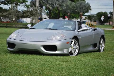 2018 ferrari 360 spider.  spider 2004 ferrari 360 spider for sale in doral fl inside 2018 ferrari spider