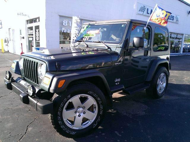2004 Jeep Wrangler for sale in Lapeer MI