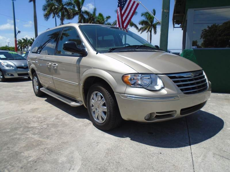 2006 Chrysler Town And Country Limited 4dr Extended Mini