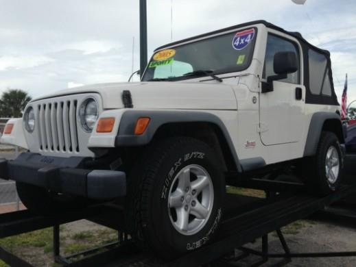 2005 Jeep Wrangler for sale in ORLANDO FL