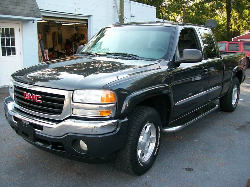 2005 gmc sierra 1500 4dr extended cab sle 4wd sb in hopewell va southern auto and cap sales inc. Black Bedroom Furniture Sets. Home Design Ideas