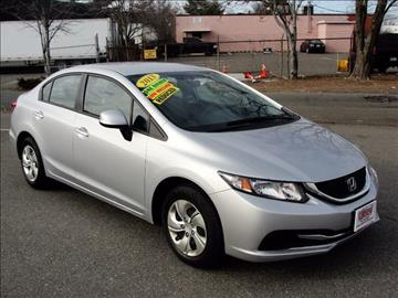 2013 Honda Civic for sale in Malden, MA