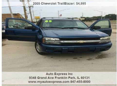 2005 Chevrolet TrailBlazer for sale in Franklin Park, IL