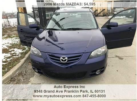 2006 Mazda MAZDA3 for sale in Franklin Park, IL