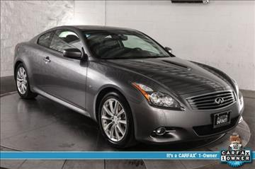 2014 Infiniti Q60 Coupe for sale in Austin, TX
