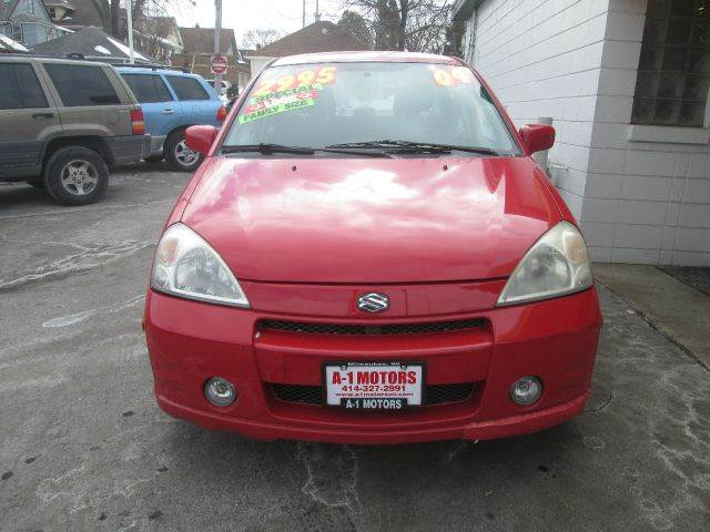 2004 SUZUKI AERIO S 4DR SEDAN red this vehicle located at 7623 w greenfield ave west allis wi 5321