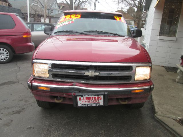 1997 CHEVROLET BLAZER LS 4DR 4WD SUV maroon vehicle located at 7623 w greenfi