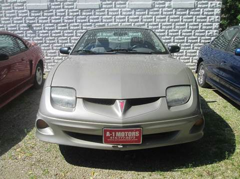 2001 Pontiac Sunfire for sale in West Allis, WI