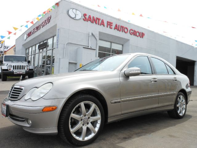 2003 MERCEDES-BENZ C-CLASS C320 SPORT SEDAN silver the electronic components on this vehicle are i