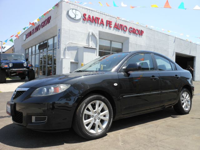 2008 MAZDA 3 I SPORT 4-DOOR black all power equipment on this vehicle is in working order there a