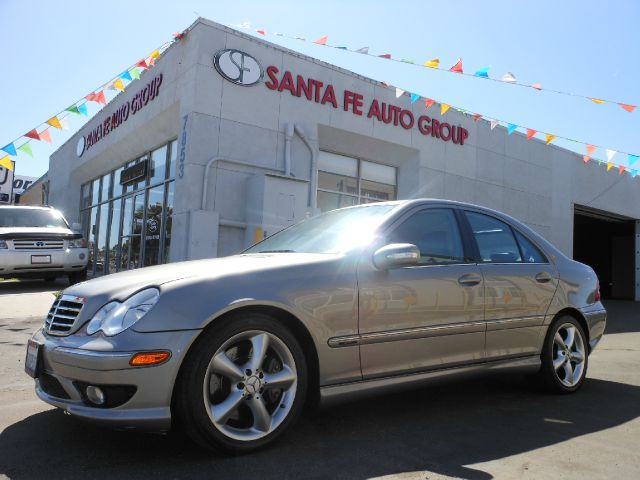 2007 MERCEDES-BENZ C-CLASS C230 SPORT SEDAN silver all power equipment is functioning properly  t