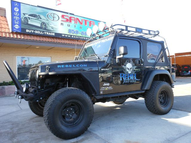 2004 JEEP WRANGLER SPORT black all electrical and optional equipment on this vehicle have been che