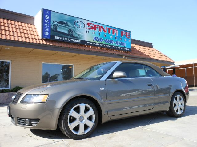 2004 AUDI A4 18T CABRIOLET gray all power equipment is functioning properly  this vehicle has no