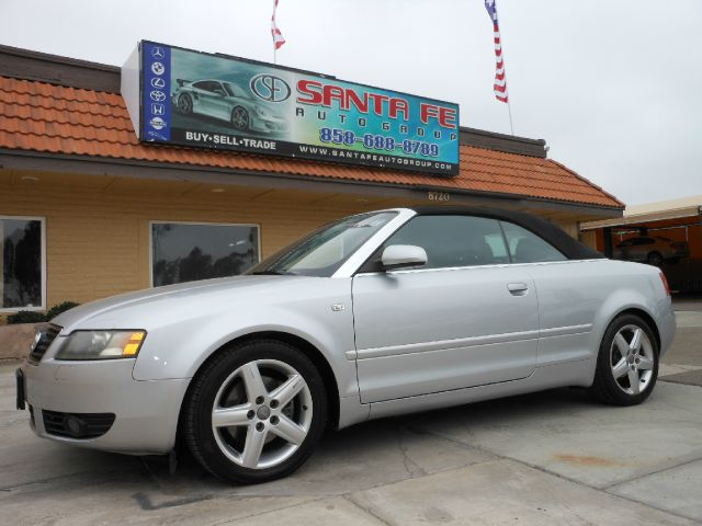 2005 AUDI A4 30 CABRIOLET silver all electrical and optional equipment on this vehicle have been