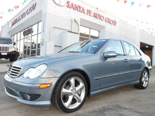 2005 MERCEDES-BENZ C-CLASS C230 K SPORT SEDAN silver the electronic components on this vehicle are