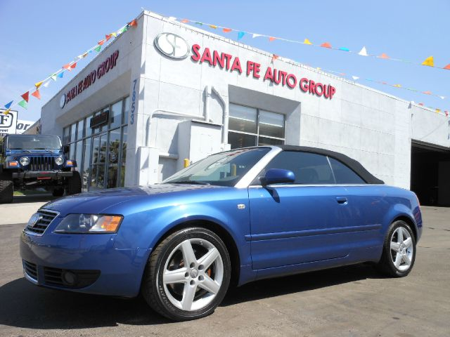 2003 AUDI A4 30 CABRIOLET blue there are no electrical concerns associated with this vehicle  ve