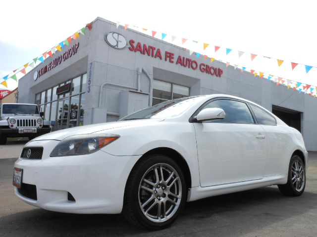 2007 SCION TC SPORT COUPE white all electrical and optional equipment on this vehicle have been ch