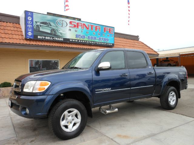 2004 TOYOTA TUNDRA SR5 DOUBLE CAB 2WD blue all power equipment on this vehicle is in working order