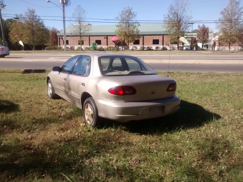 2002 Chevrolet Cavalier 4dr Sedan - Charlotte NC
