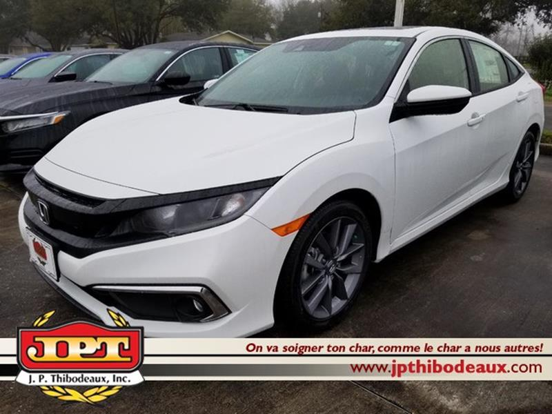 Jp Thibodeaux Used >> 2019 Honda Civic Ex 4dr Hatchback In New Iberia La J P Thibodeaux