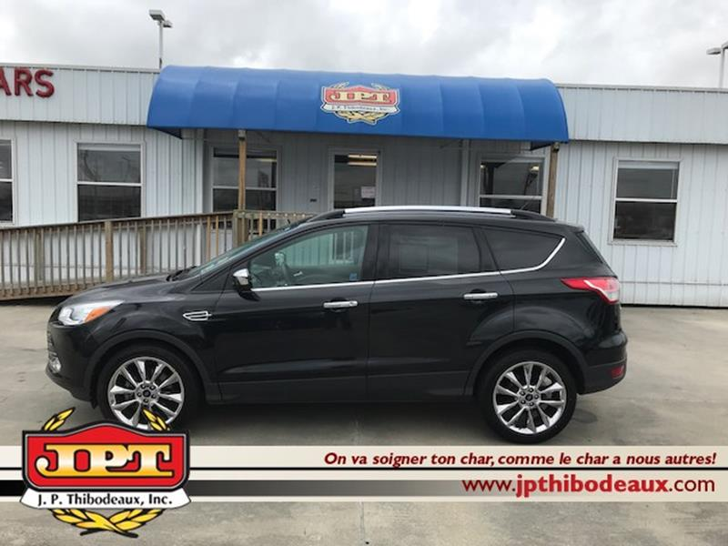 Jp Thibodeaux Used >> 2015 Ford Escape Se 4dr Suv In New Iberia La J P Thibodeaux Used Cars