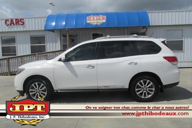 Jp Thibodeaux Used >> 2013 Nissan Pathfinder Sl 4dr Suv In New Iberia La J P Thibodeaux
