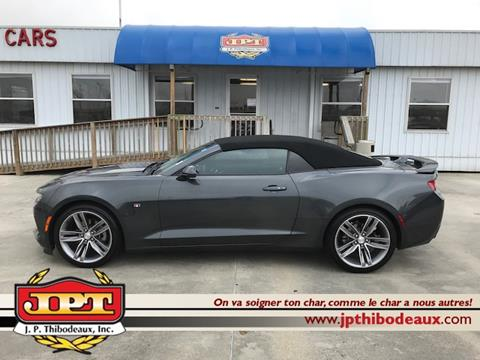 2017 Chevrolet Camaro For Sale In Louisiana Carsforsale Com