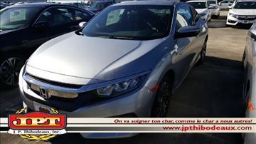 2017 Honda Civic for sale in New Iberia, LA