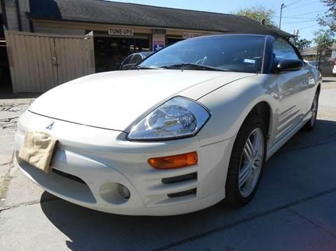 2003 Mitsubishi Eclipse Spyder for sale in Houston, TX