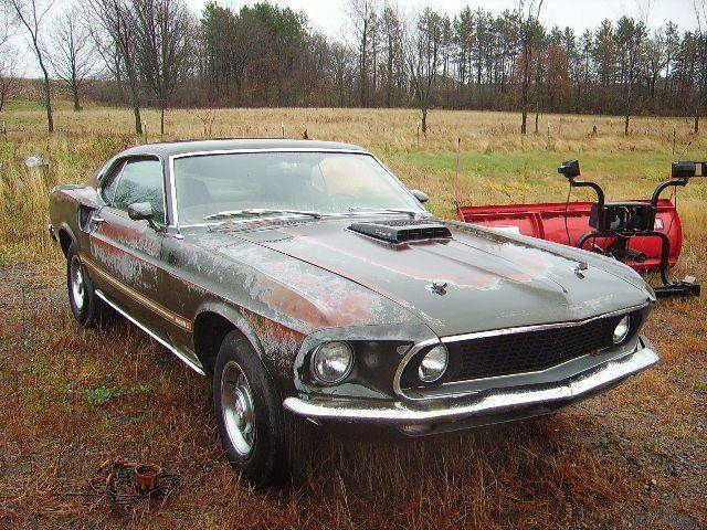 Used 1969 ford mustang mach 1 for sale