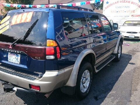 2001 Mitsubishi Montero Sport for sale in Everett, WA