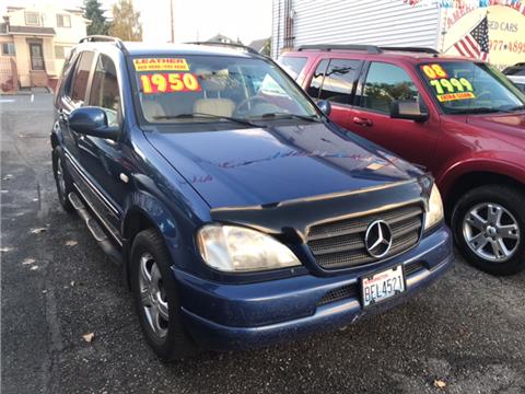 2001 Mercedes-Benz M-Class for sale in Everett, WA