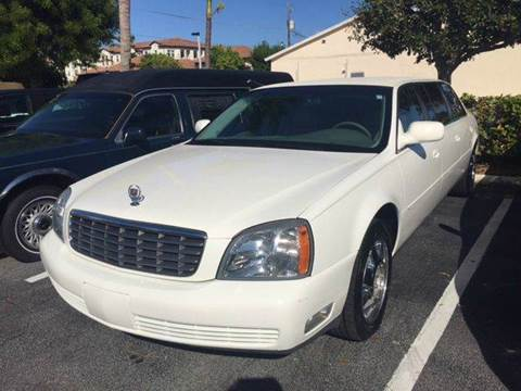 2004 Cadillac DTS for sale in Deerfield, FL