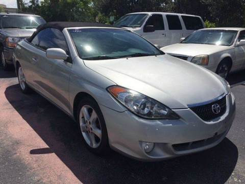 2006 Toyota Camry Solara for sale in Deerfield, FL