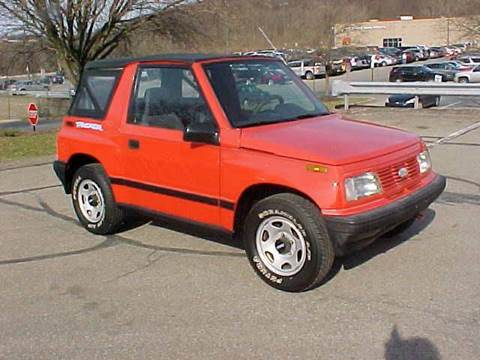 Geo tracker for sale for Andy yeager motors in harrison arkansas