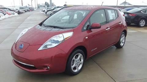 2012 Nissan LEAF for sale in Maquoketa IA