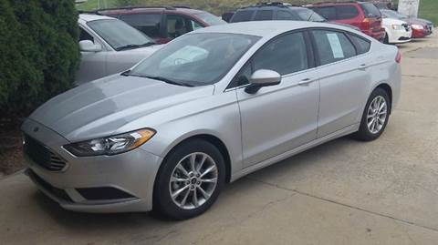 2017 Ford Fusion for sale in Maquoketa, IA
